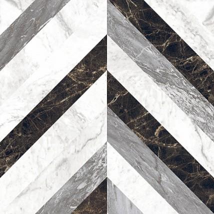 Керамогранит полированный Chambord Mix Color CB01 (60 x 60 см)