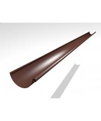 Водосток Интерпрофиль 125/90 PE: желоб, 3 м