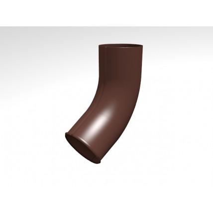 Водосток стальной Интерпрофиль 125/90 PE: отвод 70 градусов