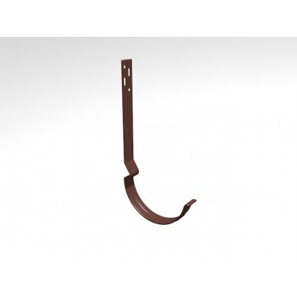 Водосток стальной Интерпрофиль 125/90 PE:  держатель желоба (210 мм)