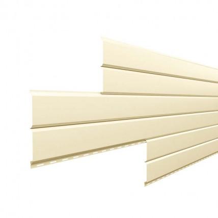 Сайдинг металлический - Металл Профиль - цвет RAL1015 (светло-бежевый)
