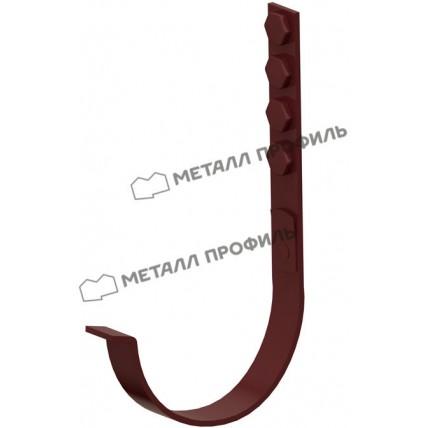 Водосток стальной Металл Профиль Престиж 125/100: держатель желоба усиленный 280 мм