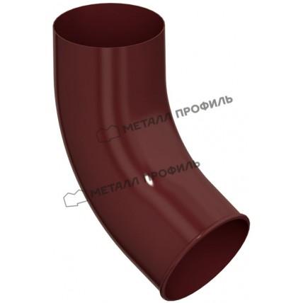 Водосток стальной Металл Профиль Престиж 125/100: колено сливное (отвод) 60 гр