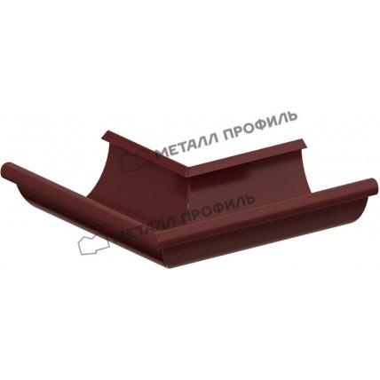 Водосток стальной Металл Профиль Престиж 125/100: угол желоба наружный 90 гр