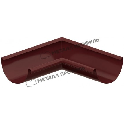 Водосток стальной Металл Профиль Престиж 125/100: угол желоба внутренний 90 гр