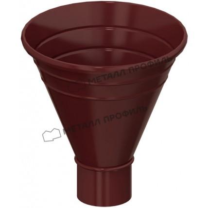 Водосток стальной Металл Профиль Престиж 125/100: воронка водосборная