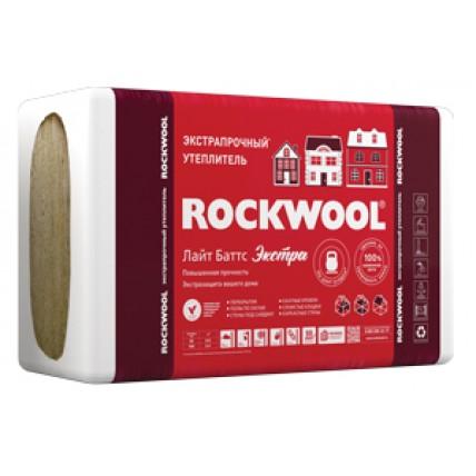 Базальтовая теплоизоляция (вата) - Rockwool (Роквул) Лайт Баттс Экстра 100