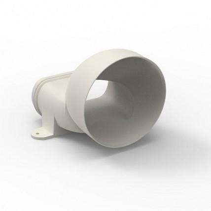 Воздуховод Vilpe Renson Easyflex гибкий (овал) - горизонт. адаптер на D125