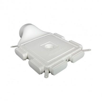 Воздуховод Vilpe Renson Easyflex гибкий (овал) - прямой распред. короб D160 на 6 каналов
