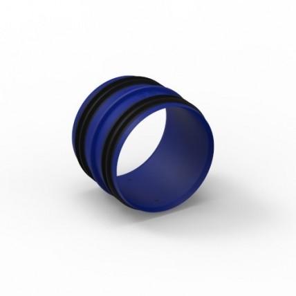 Воздуховод Vilpe Renson Easyflex гибкий (овал) - соединительная муфта D80