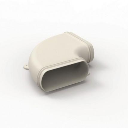 Воздуховод Vilpe Renson Easyflex гибкий (овал) - горизонт. переходник 90 гр