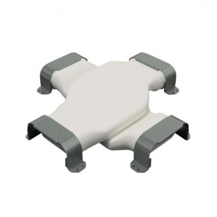 Воздуховод Vilpe Renson Easyflex гибкий (овал) - крестовой переходник (овал)