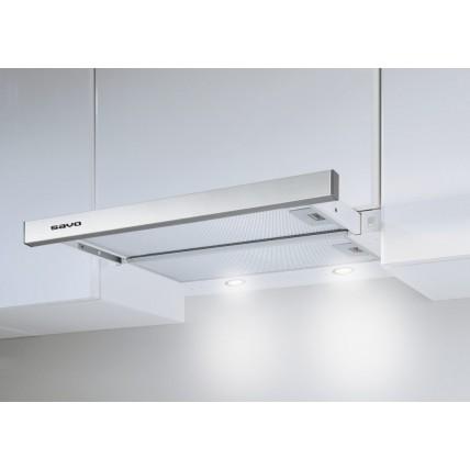 Кухонная вытяжка SAVO PH-26 Inox 50 см для Vilpe Тихая Кухня