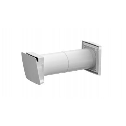 Клапан приточный вентиляционный (в стену) с фильтром и термостатом - Vilpe (Вилпе) WIVE 100